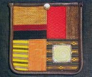 Карманная предпосылка ткани стоковое изображение