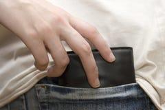 карманник Стоковое Изображение RF
