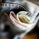 Карманные деньги Стоковое Изображение RF