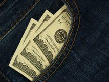 Карманные деньги Стоковое Фото