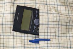 Карманный калькулятор стоковое фото rf