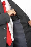 карманный костюм Стоковое Фото
