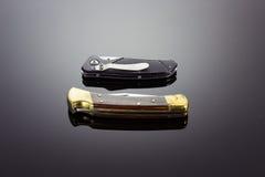 2 карманных ножа Стоковые Фотографии RF