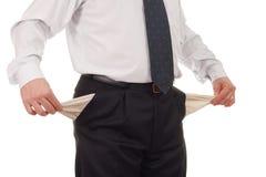 карманн бизнесмена пустые Стоковое Изображение