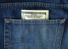 карманн голубых джинсов Стоковая Фотография RF