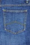 карманн голубых джинсов Стоковые Фото