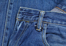 карманн голубого демикотона Стоковые Фото