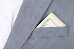 карманн дег куртки Стоковое Изображение RF