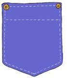 карманн джинсовой ткани Стоковые Фотографии RF