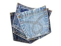карманн джинсовой ткани Стоковые Изображения RF