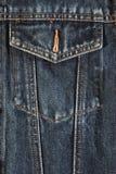 карманн джинсовой ткани Стоковые Фото
