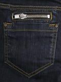 карманн джинсыов вальмы Стоковые Изображения