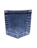 карманн джинсыов Стоковые Изображения