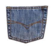 карманн джинсыов Стоковые Изображения RF
