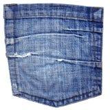 карманн джинсыов Стоковая Фотография