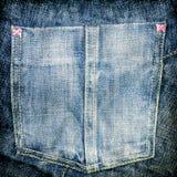 карманн джинсыов Стоковое Фото