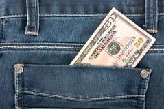 карманн доллара 50 Стоковое Изображение RF