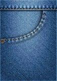 Карманн джинсов Стоковое Фото