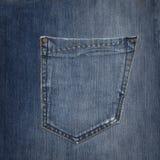 Карманн джинсов Стоковая Фотография RF