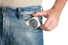 карманн камеры Стоковые Изображения