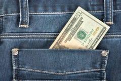карманн 20 доллара Стоковые Фотографии RF