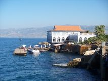 Карниз Бейрут Ливан Стоковые Изображения RF