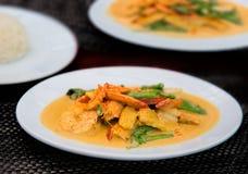 карри тайское Стоковое Фото