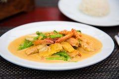 карри тайское Стоковая Фотография RF