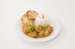 карри цыпленка тайское Стоковые Фото