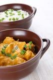 Карри цыпленка масла с basmati рисом. Стоковая Фотография RF