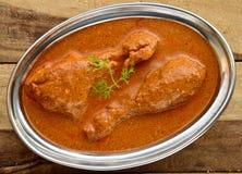 Карри цыпленка масла Стоковое Изображение