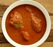 Карри цыпленка масла Стоковая Фотография