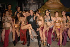 Карри Adrianne, Алисия Arden, Jabba, Паула LaBaredas, Shae Стоковое фото RF