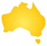 карта Австралии бесплатная иллюстрация