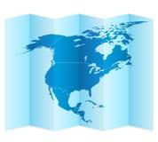 карта америки континентальная северно политическая бесплатная иллюстрация