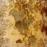 карта америки Стоковые Изображения RF