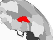 Карта Буркина Фасо бесплатная иллюстрация