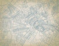 карта грубая Стоковое фото RF