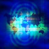 Карта мира Стоковое Изображение RF