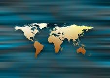 Карта мира Стоковые Изображения RF