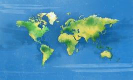 Карта мира бесплатная иллюстрация