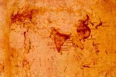 Карта мира Стоковая Фотография