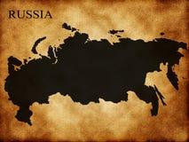 карта Россия Стоковые Изображения