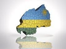 карта Руанда