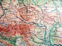 карта старая Стоковые Изображения RF