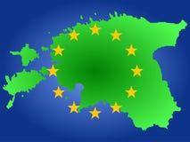 карта эстонии бесплатная иллюстрация