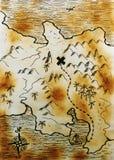 карта Стоковое фото RF