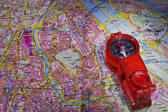 Карта Стоковые Фото