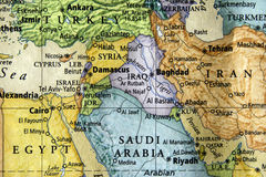 карта Стоковые Изображения RF
