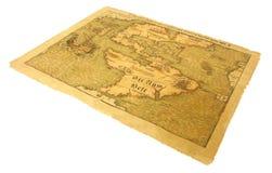 карта antique Стоковые Фото